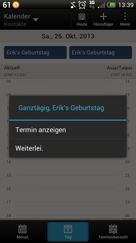 screenshot 2 - (Handy, HTC ONE S)