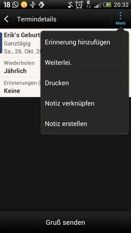 screenshot 3 - (Handy, HTC ONE S)