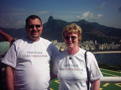 Mein Mann und ich auf dem Zuckerhut - (Partylite)