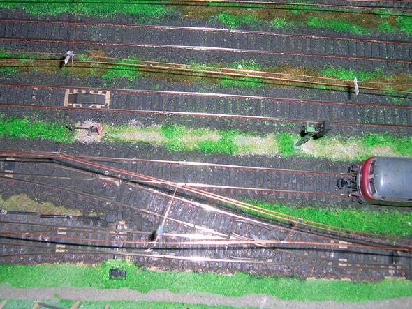 Eisenbahn - (Modelleisenbahn, Anschluss Gleise, allgemein zu Anschlüssen)