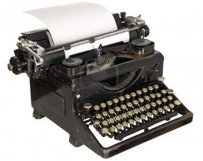 Schreibmaschine - (Papier, Schreibmaschine)