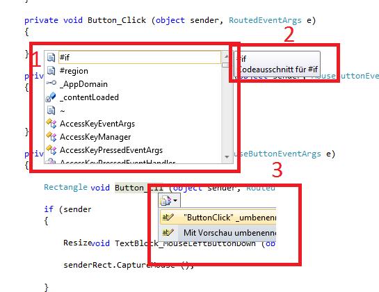 vs tooltips - (Computer, programmieren, Visual Studio)