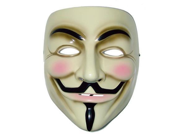 Anonymous Maske - (Schminke, Schauspieler, Kostüm)