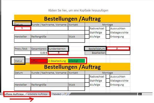 Beispiel - (Excel, Tabelle)