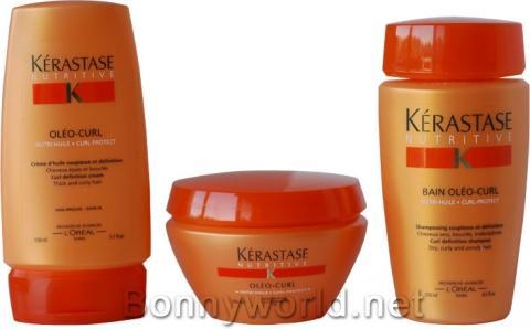 pflegeserie von kérastase für trockenes, lockiges u widerspenstiges haar  - (Haare, Locken)