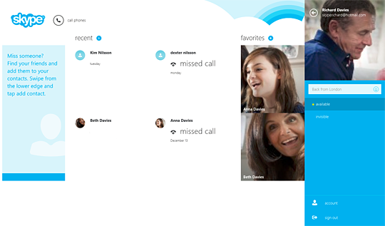 Wie kann ich mein Skype Profilbild nur für Kontakte ändern