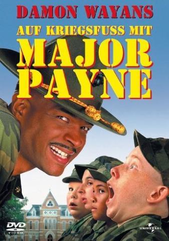 Auf Kriegsfuß mit Major Payne - Cover - (Film, Fernseher, Kino)