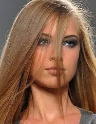 Dunkelbraune haare mit blonden strähnen bilder