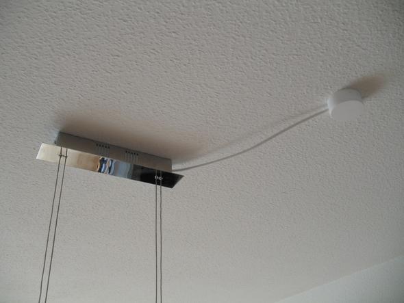 Welchen d bel f r diese decke heimwerken lampe diy - Kabel durch wand bohren ...