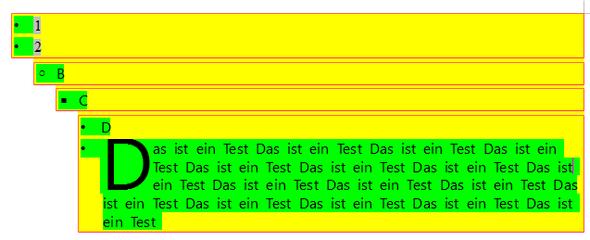 LibreOffice OOo Aufzählungszeichen mit Formatvorlage geändert - (Text, OpenOffice)