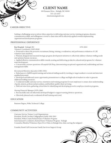 Sample American CV - (Beruf, englisch, Bewerbung)