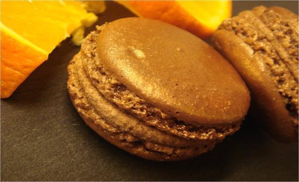 Macaron Chocolat Orange - (kaufen, Berlin, macarons)