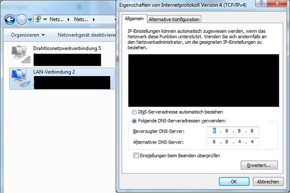 DNS - (uplay, far cry 3, Aktivierung)