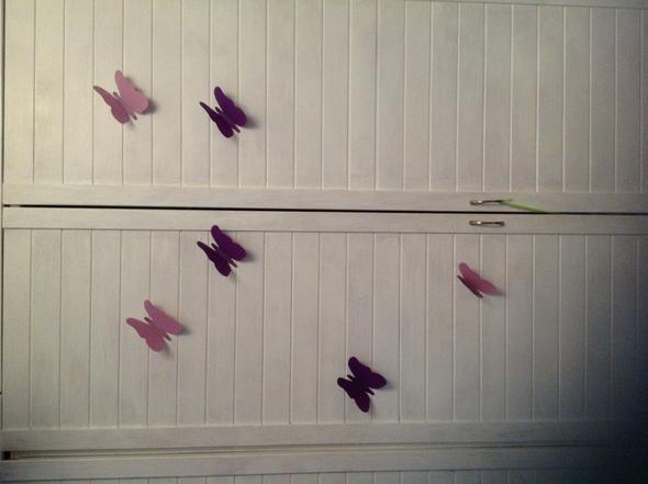 Schmetterlinge - (Zimmer, Wand, Deko)