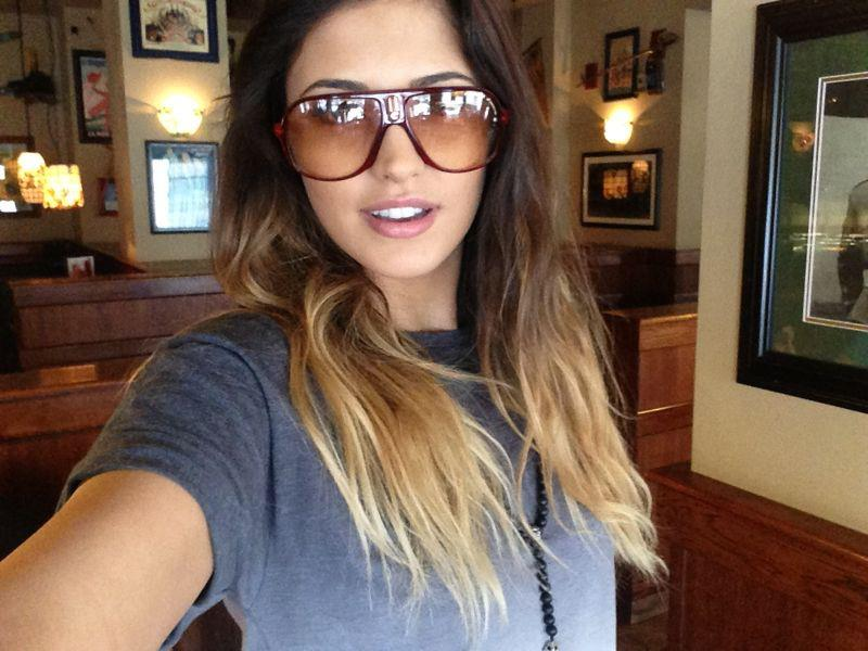 Ombre hair farbverlauf haare infos for Ombre mittellang