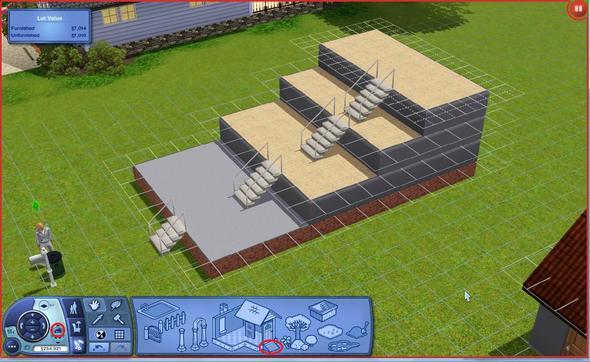 Sims 3 zweite etage bauen wie pc stockwerke for Sims 4 dach bauen