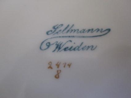 Foto 2 - (Geschirr, Seltmann Weiden, altes Geschirr)