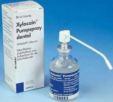 Oberflächenanästhetikum  - (Angst, Zahnarzt)