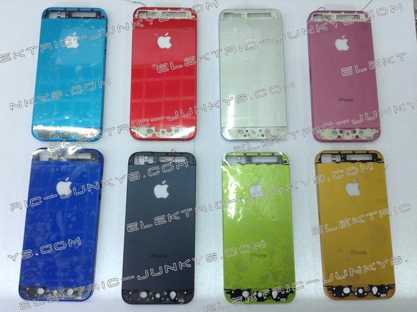 8 Diffrent Housing Colors Available from 79USD - (Apple, iphone 5)