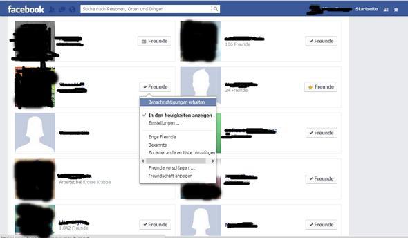 freunde bei facebook löschen iphone
