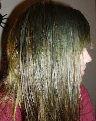Haare Grünstich überfärben