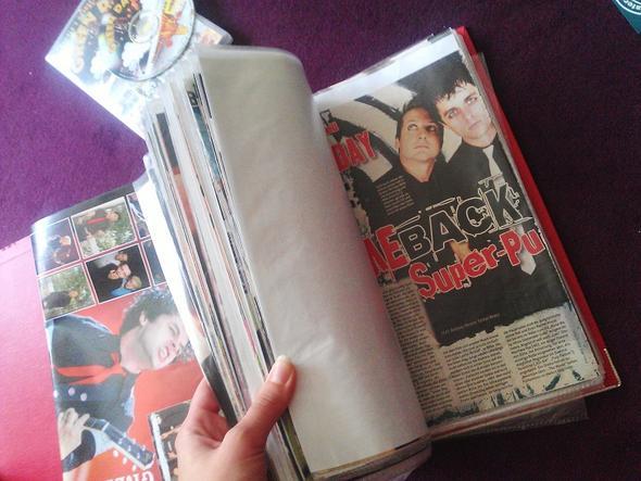 Ordner - (Zeitschrift, Bericht, Green Day)