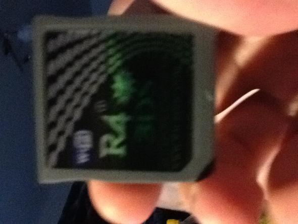 3ds - (Nintendo-ds, R4 karte)