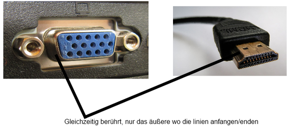 Bild - (Computer, HDMI, VGA)