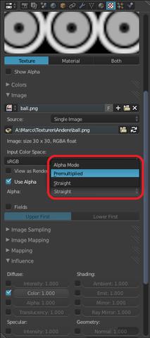 Alpha Mode: Premultiplied - (Computer, Programm, 3-D)