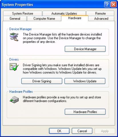 audiogerät für windows xp