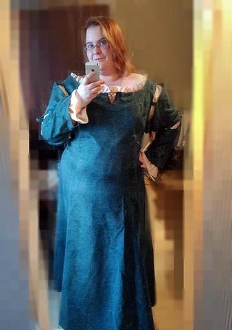 Merida Kleid - (Bestellen, Superhelden)