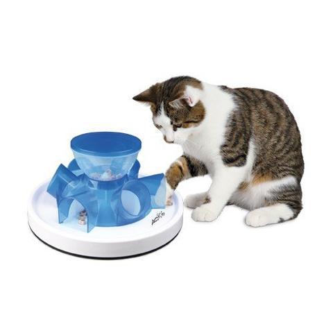 Tunnel Futternapf - (Arbeit, Katze, Spielzeug)