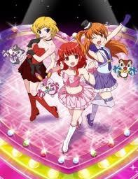 Links Takamine Mion, Mitte Harune Aira, Rechts Mamamiya Rizumu - (Sport, Anime)