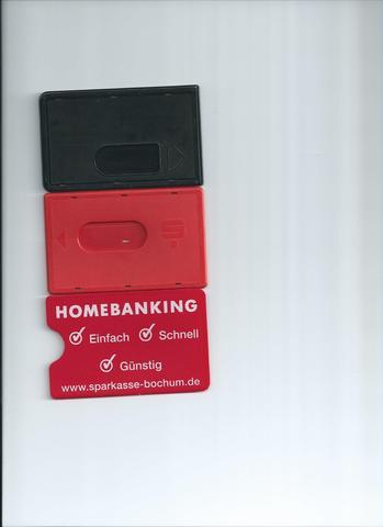 Kartenhüllen Rückseite - (Geld, Tasche, brieftasche)