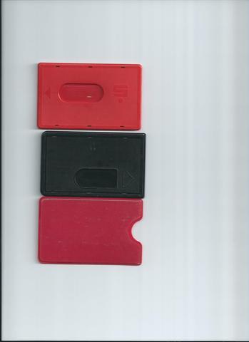 Kartenhüllen Vorderseite - (Geld, Tasche, brieftasche)
