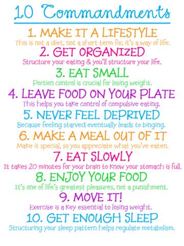 10 Tipps - (abnehmen, Kalorien)
