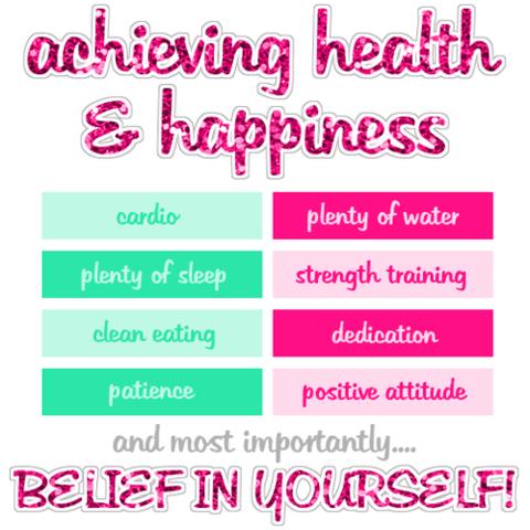 Health & Happiness - (abnehmen, Kalorien)