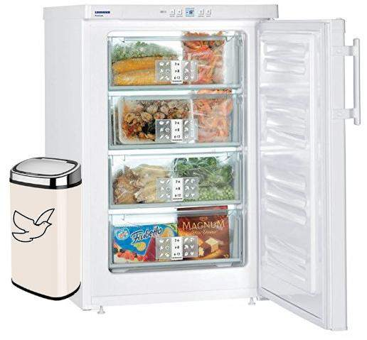 Business idea: freezer with chilled trash can?