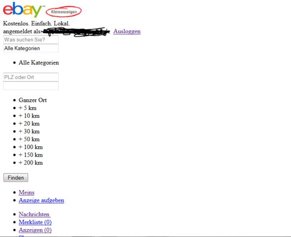guck voll blöd - (Computer, Internet, Ebay)