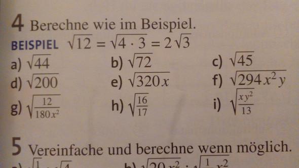 Ich verstehe es nicht  - (Schule, Mathe, Wurzel)