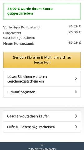 Mit Amazon Guthaben Bezahlen