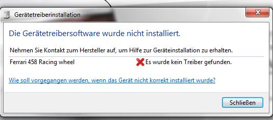 keine Treiber  - (PC, Windows 7, Xbox 360)