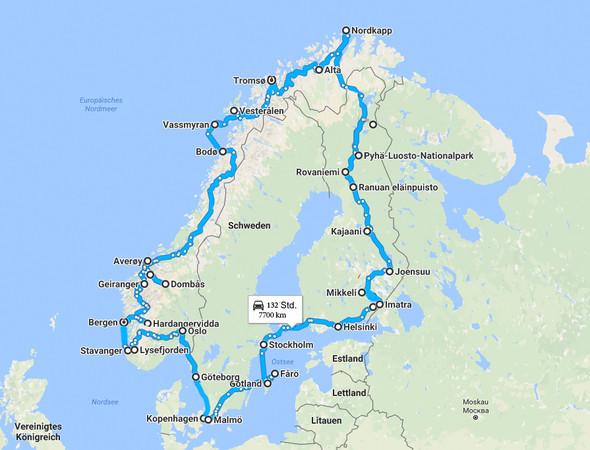 Skandinavien - (Urlaub, Reise, Europa)