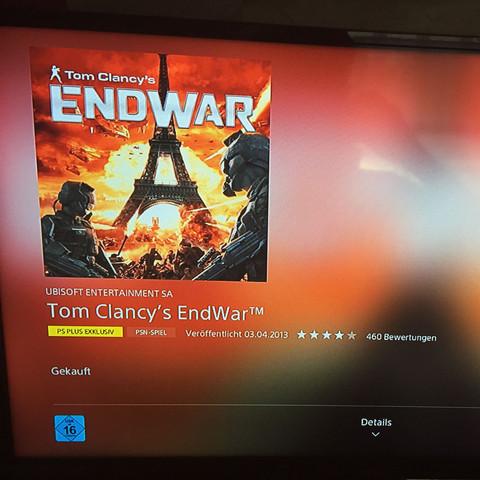 EndWar  - (Spiele, Playstation)