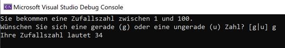 Wie generiert man mit с# gerade oder ungerade Zufallszahlen?