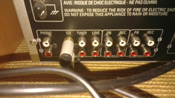 Verstärker Anschlüsse - (Technik, HiFi)