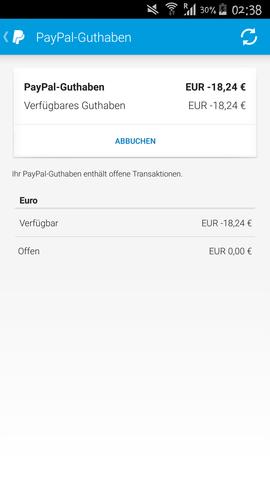 Guthaben Bei Paypal