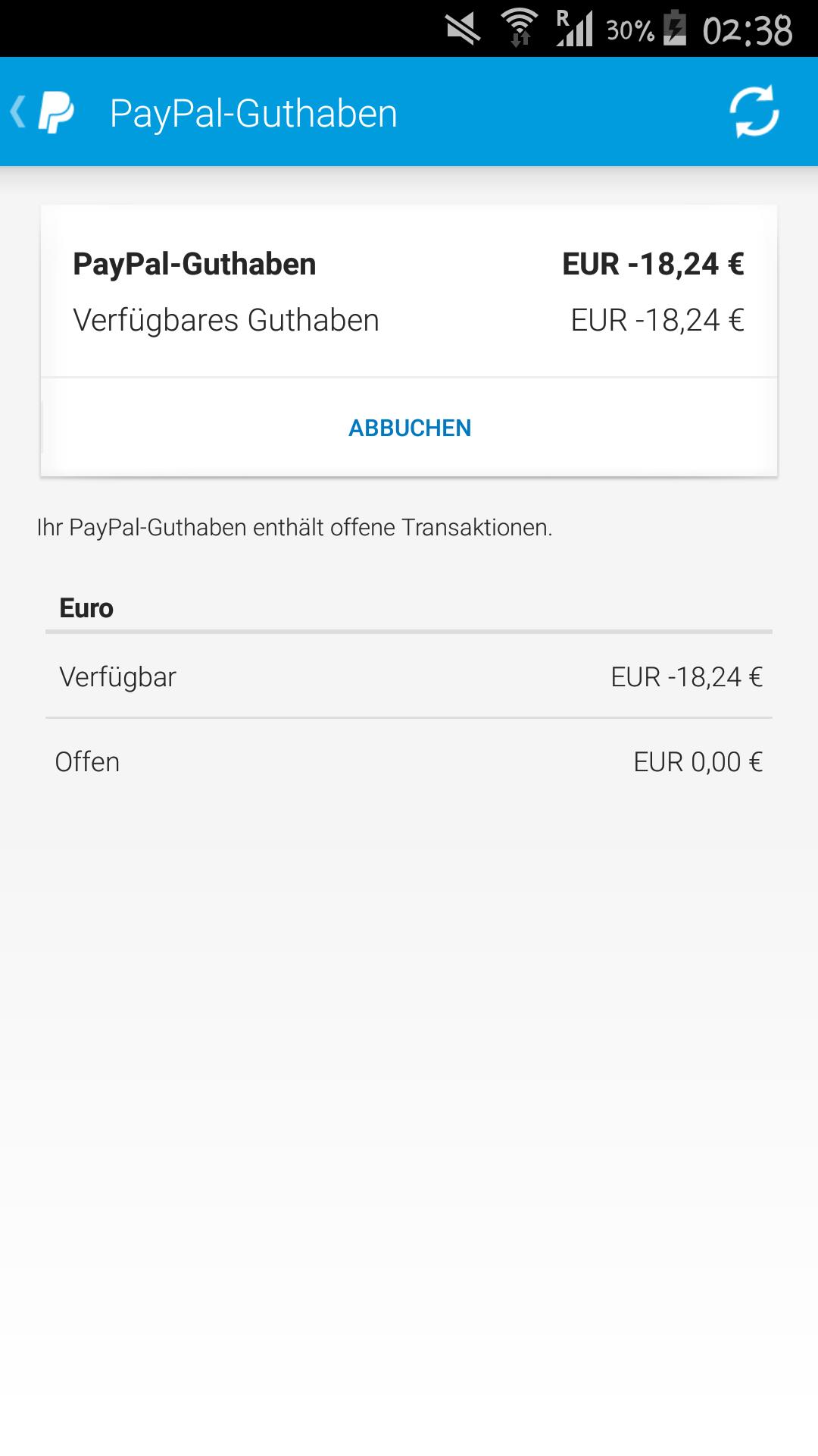 Paypal Guthaben Aufs Konto