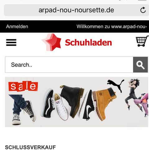 Hat jemand Erfahrungen mit dem Online Shop ? - (Schuhe, Website, Online-Shop)