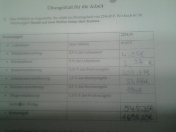Mathematik  - (Schule, Mathematik, Zinsen)